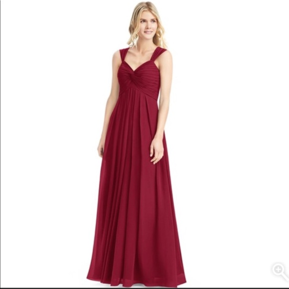 828b6becc82 Azazie Dresses   Skirts - Azazie Kaitlynn bridesmaids dress in burgundy